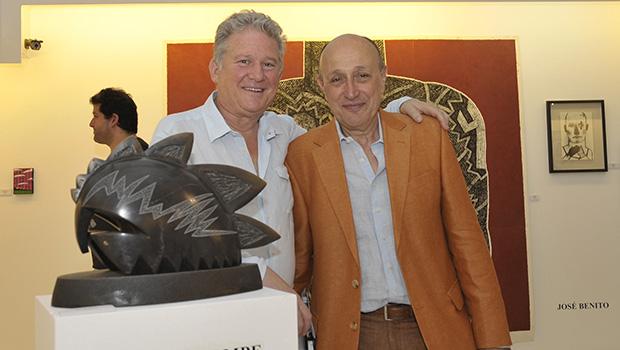 Isaias Goldman y Alejandro davila