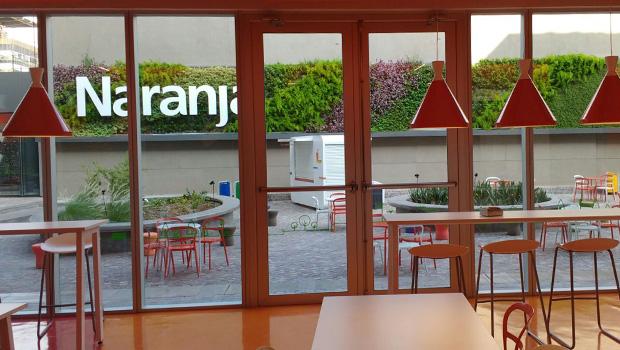 El nuevo Edificio Tarjeta Naranja cuenta con jardines verticales