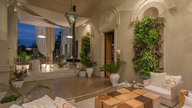El paisajismo también se vale de este recurso, como en este espacio de Casa Portal 2015, desarrollado por la arquitecta Mónica Fiore