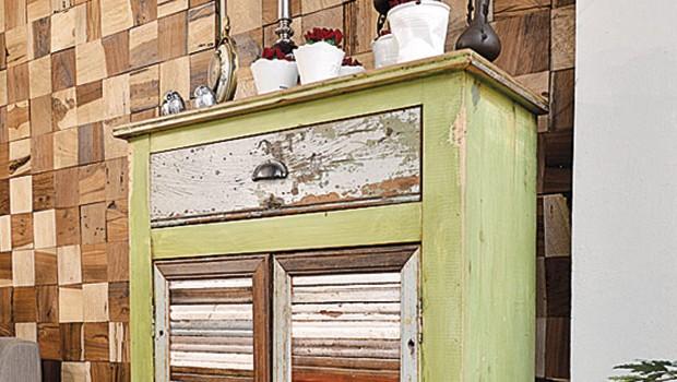 Dirty chic r stico y moderno cbarq for Reciclado de muebles de madera antiguos