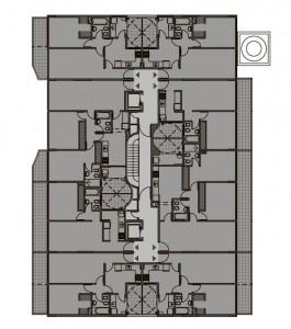 Planta 1 piso - Gral Deheza